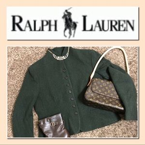 EUC Super Stylish Ralph Lauren Wool Coat